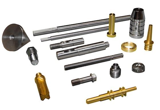 Lote de piezas producción Serindec